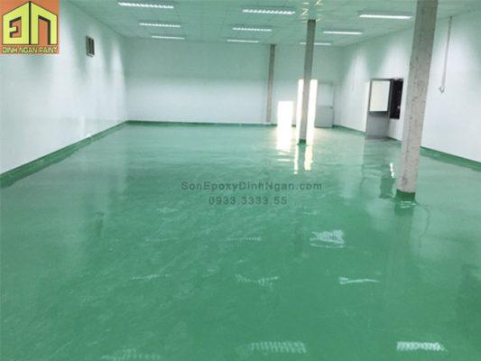 Sơn epoxy sàn nhà máy dược phẩm