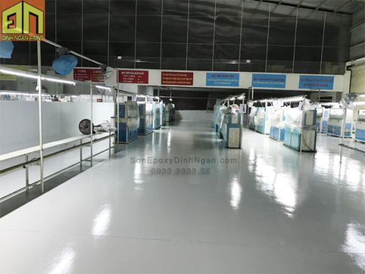 Sơn Epoxy Nhà máy may quần áo