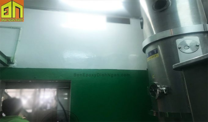 sơn tường epoxy phòng sạch