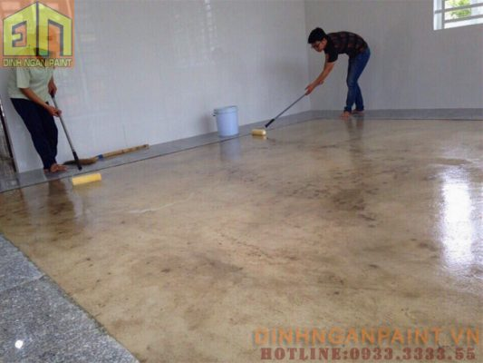 Sơn Epoxy trong suốt
