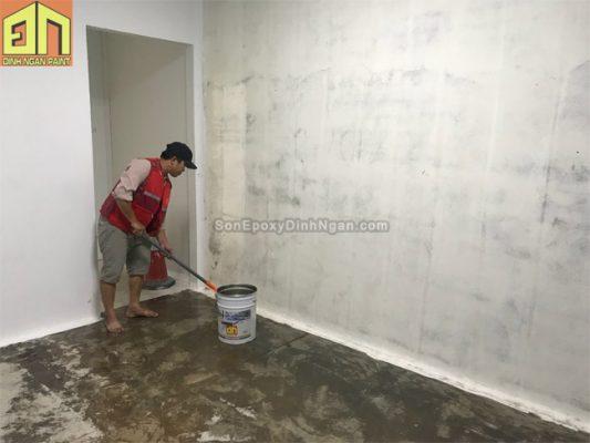 sơn sàn epoxy phòng sạch