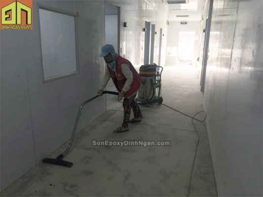 sơn sàn epoxy phòng sach
