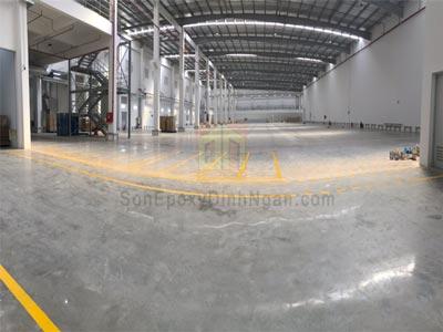 quy trình đánh bóng sàn bê tông nhà xưởng